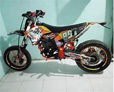 Scorpio Modif Trail Ktm 250 by Kumpulan Yamaha Scorpio Modifikasi Trail Dan Supermoto