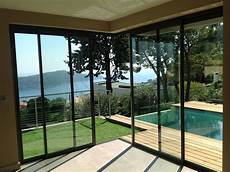 largeur baie vitrée baie coulissante d angle