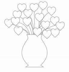 hearts flowers coloring pages for gt gt disney coloring
