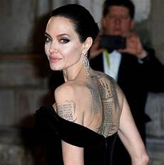 angelina jolie tattoos get inspiration from a movie star