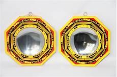 miroir convexe feng shui lot de 2 miroirs bagua concave et convexe 13cm miroirs bagua