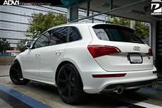 audi q5 adv6mv2 matte black matte black wheels adv 1
