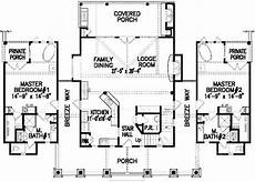 house plans with dual master suites luxury ranch style house plans with two master suites