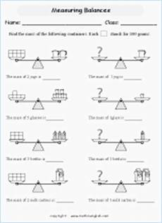mass measurement worksheets grade 1 1750 reading scales printable grade 3 math worksheet