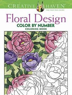 color by number coloring pages 18053 creative floral design color by number coloring book by mazurkiewicz paperback