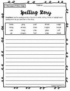 4th grade journeys spelling writing activity lessons 1 30 tpt