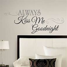 home decor wall stickers new large always me goodnight wall decals bedroom