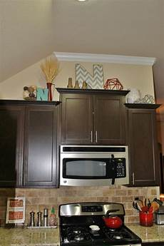 Home Decor Ideas Kitchen Cabinets by Fill In Above Kitchen Cabinets How To Redecorate Your
