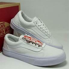 Jual Sepatu Vans Oldskool jual sepatu vans skool solstice white sepatu