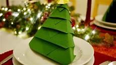 Tree Napkin Folding Diy Origami How To
