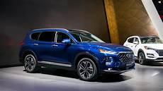 2019 Hyundai Diesel by 2019 Hyundai Santa Fe Debuts With Handsome Look Diesel Mill
