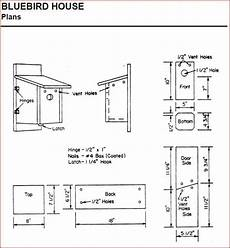 bluebird house plans pdf creating bluebird habitat free bluebird house plans
