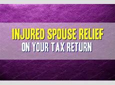 injured spouse claim