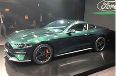 2018 ford mustang bullitt tackles goodwood with original