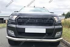 ford ranger t6 grille raptor style grille black letters
