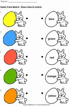 yummy english for children easter worksheets