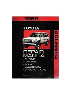 auto air conditioning repair 2010 toyota 4runner instrument cluster 1989 toyota 4runner factory service manual