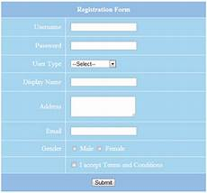 php form validation