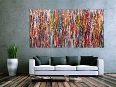 moderne bilder auf leinwand modernes acrylbild abstrakt und bunt acrylbilder