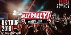 ally pally comes to leeds student darts tickets on friday