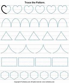 trace patterns worksheets 268 trace the pattern 4 worksheet turtlediary atividades de coordena 231 227 o motora coordena 231 227 o