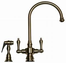 pewter kitchen faucet vintage dual handle faucet pewter pewter farmhouse kitchen faucets by luxury bath collection
