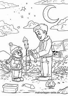 Malvorlagen Kinder Silvester Malvorlage Silvester Feiern Feiertage