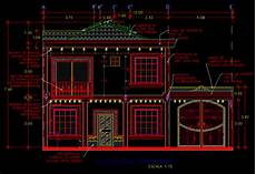 autocad 2d plans for houses house elevation plan 2d autocad 2d maps