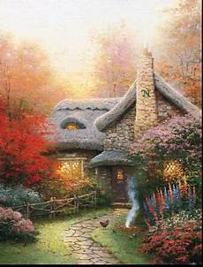 thomas kinkade house plans thomas kinkade cottage house plans