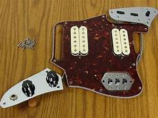fender classic player jaguar hh loaded pickguard humbucker