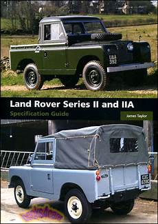 books about how cars work 2002 land rover discovery engine control land rover book specification guide 2 2a ii iia taylor series ebay