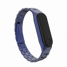Bakeey Stainless Steel Physiological Cycle by Bakeey Metal Straps Stainless Steel Band For Miband 3