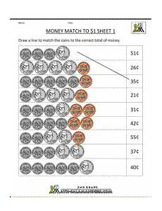 free worksheets for 1st grade counting money 2882 money printable worksheets money match to 1 sheet 1 money math worksheets money worksheets
