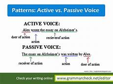 grammar worksheets passive active voice 25028 grammar check out this quiz on active voice and passive voice http www