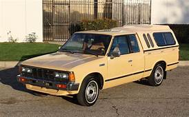 California Original1984 Datsun/Nissan 720 King CabOne