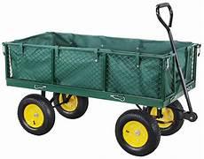 miweba bollerwagen mb 700 mit plane und 700 kg traglast