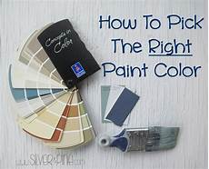 how to pick the right paint color silver and pine
