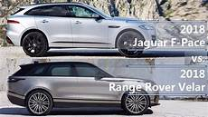 dimensions of jaguar f pace 2018 2018 jaguar f pace vs 2018 range rover velar technical