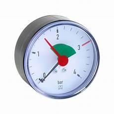 afriso manometer hz 63 axial zentrisch 3 8 ag rot ab 3 0 bar
