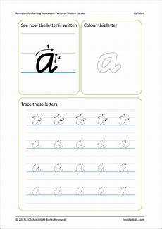 australian handwriting worksheets modern cursive free sle leostarkids
