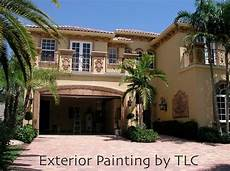 florida painting contractor service for exterior house