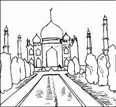 gratis malvorlagen orient orientalisches bauwerk ausmalbild malvorlage religion
