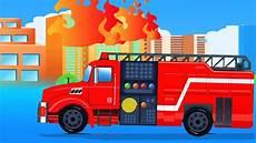 Mobil Garasi Api Truk Kartun Untuk Anak Car
