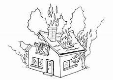 Ausmalbilder Brennendes Haus Malvorlage Brennendes Haus Kostenlose Ausmalbilder Zum