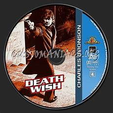 charles bronson collection death wish dvd label dvd covers labels by customaniacs id