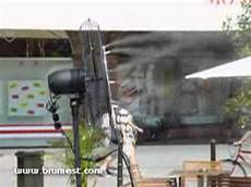 brumisateur terrasse professionnel ventilateur brumisateur brumest pour terrasse