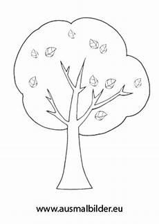 Ausmalbilder Herbst Baum Ausmalbilder Herbstbaum Herbst Malvorlagen
