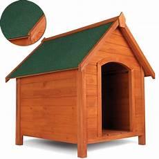 niche pour chien en bois avec toit inclin 233 ouvrant animalerie
