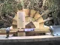 selber gebautes wasserrad s 228 gt holz