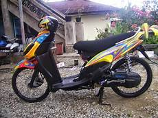 Modif Mio Sporty by Modifikasi Yamaha Mio Sporty Airbrush Grafis